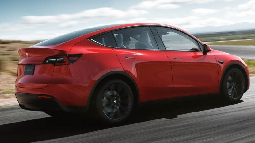 The Tesla Model Y. Image by Tesla