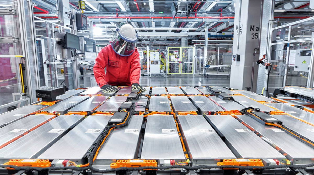 Battery assembly - Image by Volkswagen