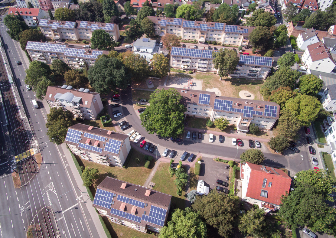 Tenant electricity project in Frankfurt am Main. Source: BSW Solar